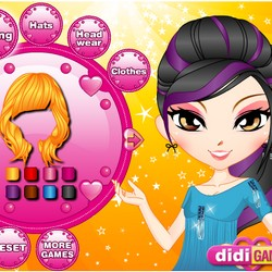 clothes games and hair styles